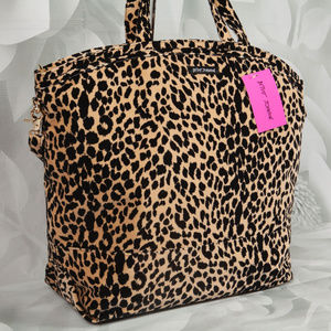 Betsey Johnson Prowlin Around Weekender Tote Bag